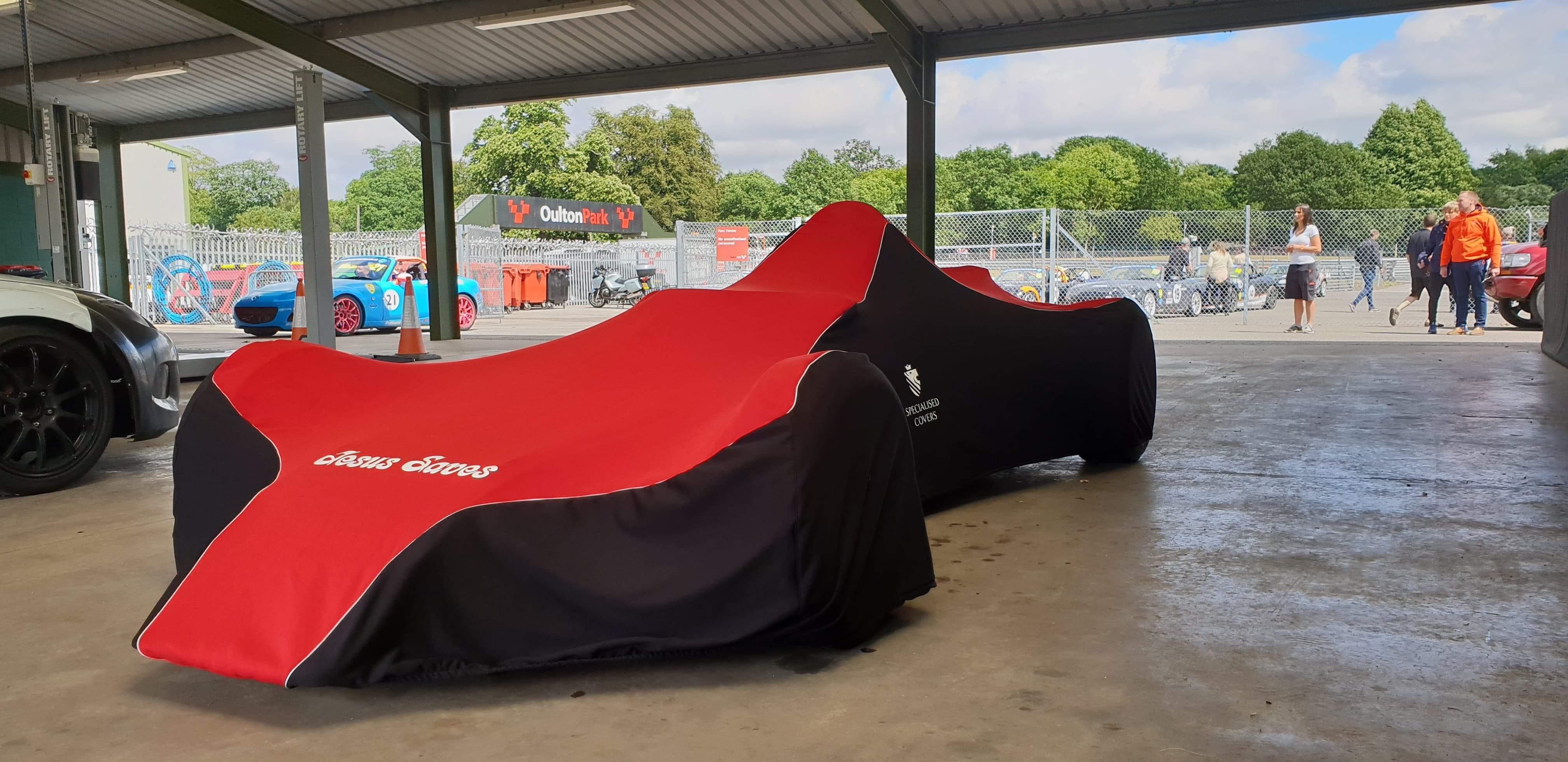 Prestige indoor car cover Formula Ford