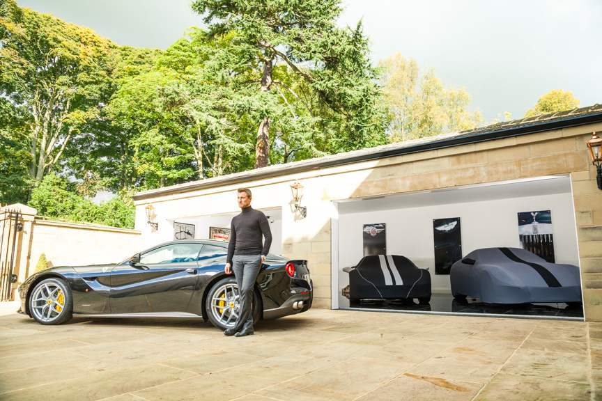 Ferrari & Porsche car covers
