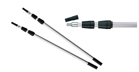 Extendable Fitting Poles