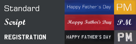 Happy Father's Day Personalisation