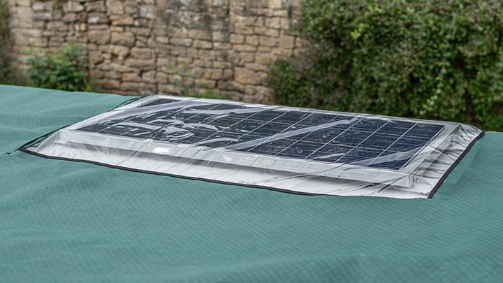 Solar Panel Window
