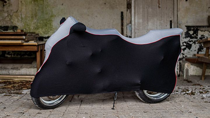 Prestige + motorbike cover