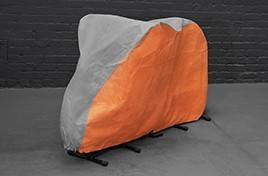 Mountain Bike Cover - Orange & Grey