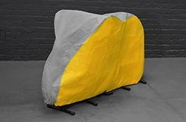 Mountain Bike Cover - Yellow & Grey