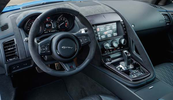 Jaguar F Type internal