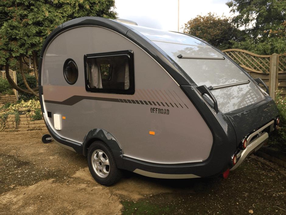 Slingshot caravan